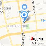 Быстроденьги на карте Астрахани