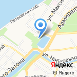 Планетарий на карте Астрахани