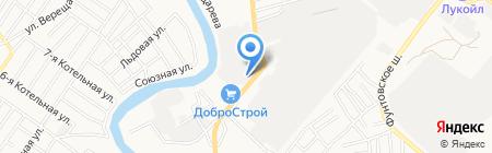 Белая ночь на карте Астрахани