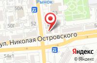 Схема проезда до компании Добропек в Астрахани