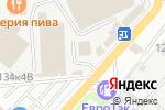 Схема проезда до компании Белая ночь в Астрахани