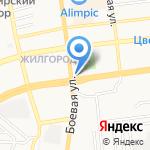 Варенька на карте Астрахани
