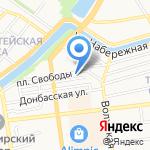 Улов на карте Астрахани