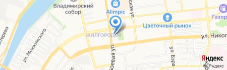 Рыбное место на карте Астрахани