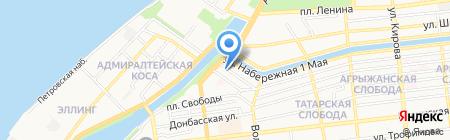 Технология Уюта на карте Астрахани