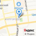 Маранта на карте Астрахани