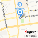 Центр развития молодежных инициатив на карте Астрахани