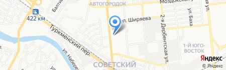 Центральная коллегия адвокатов Астраханской области на карте Астрахани