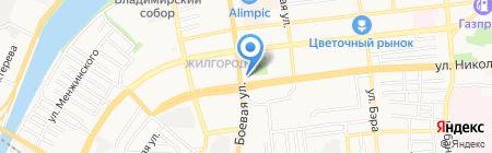 Киоск по изготовлению ключей на карте Астрахани