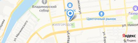 Белорусские продукты на карте Астрахани