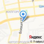 Атрива на карте Астрахани