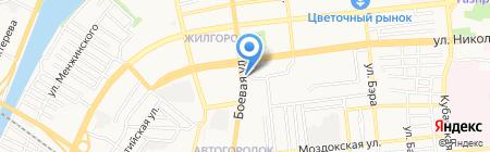 Многофункциональный центр предоставления государственных и муниципальных услуг на карте Астрахани