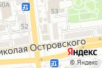 Схема проезда до компании Зеленая Волна в Астрахани