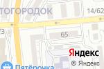 Схема проезда до компании Телплюс в Астрахани