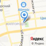 Уценка на карте Астрахани