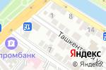 Схема проезда до компании Технология Уюта в Астрахани