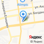 Зеленая Волна на карте Астрахани