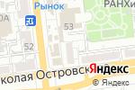 Схема проезда до компании КИВА в Астрахани