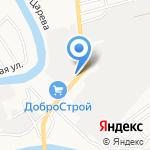 Императрица на карте Астрахани