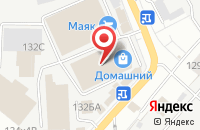 Схема проезда до компании Ар Деко в Астрахани