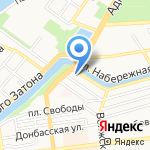 Служба доставки товаров из IKEA на карте Астрахани