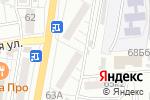 Схема проезда до компании ЗдравСити в Астрахани