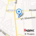 М и Т на карте Астрахани