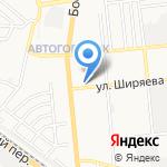 АстраханьГипрозем на карте Астрахани