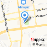 Золушка на карте Астрахани