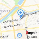 Анис на карте Астрахани