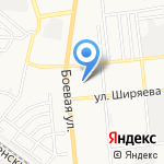 Детский сад №126 на карте Астрахани