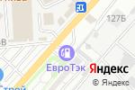 Схема проезда до компании Технотэк в Астрахани