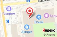 Схема проезда до компании LAWINE в Астрахани