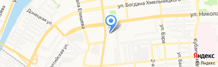 Версаль на карте Астрахани