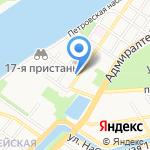 Лотус на карте Астрахани