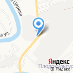 Мебельер на карте Астрахани