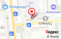 Схема проезда до компании АстраханьГипрозем в Астрахани