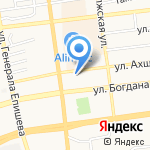 Хеликс на карте Астрахани