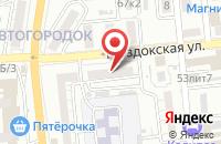 Схема проезда до компании Астраханские цифровые технологии в Астрахани