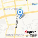 Магазин товаров смешанного типа на карте Астрахани