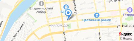 МОДЕРН на карте Астрахани