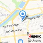 Аистенок на карте Астрахани