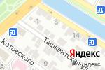 Схема проезда до компании АльпАстра в Астрахани