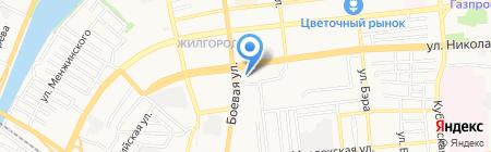 Фантазия на карте Астрахани