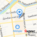 BRAX на карте Астрахани