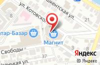 Схема проезда до компании Ёлка в Астрахани