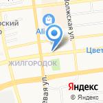 Дачный мир на карте Астрахани