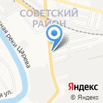 Джульетта на карте Астрахани