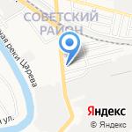 Армен на карте Астрахани