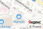 Схема проезда до компании Ключевой момент в Астрахани